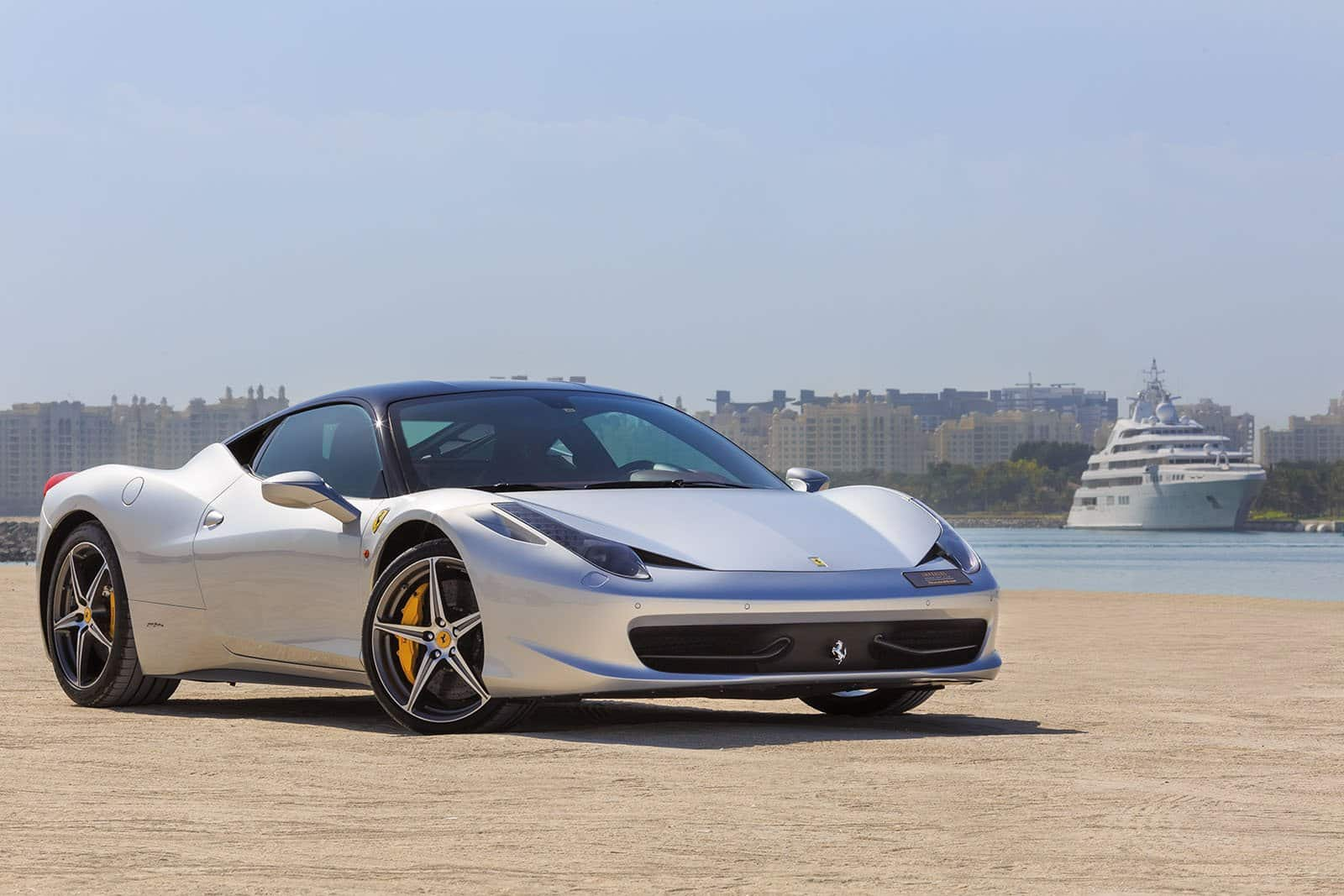 Ferrari 458 Italia Carbon Edition Car Rent Dubai