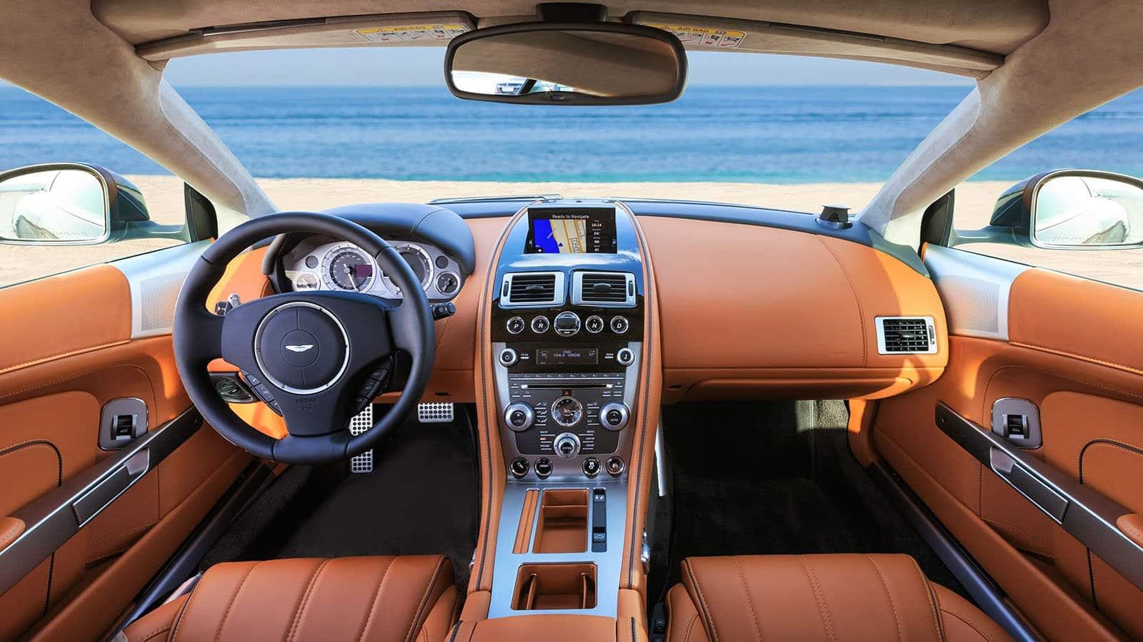 Aston Martin DB9 Car Renal Dubai