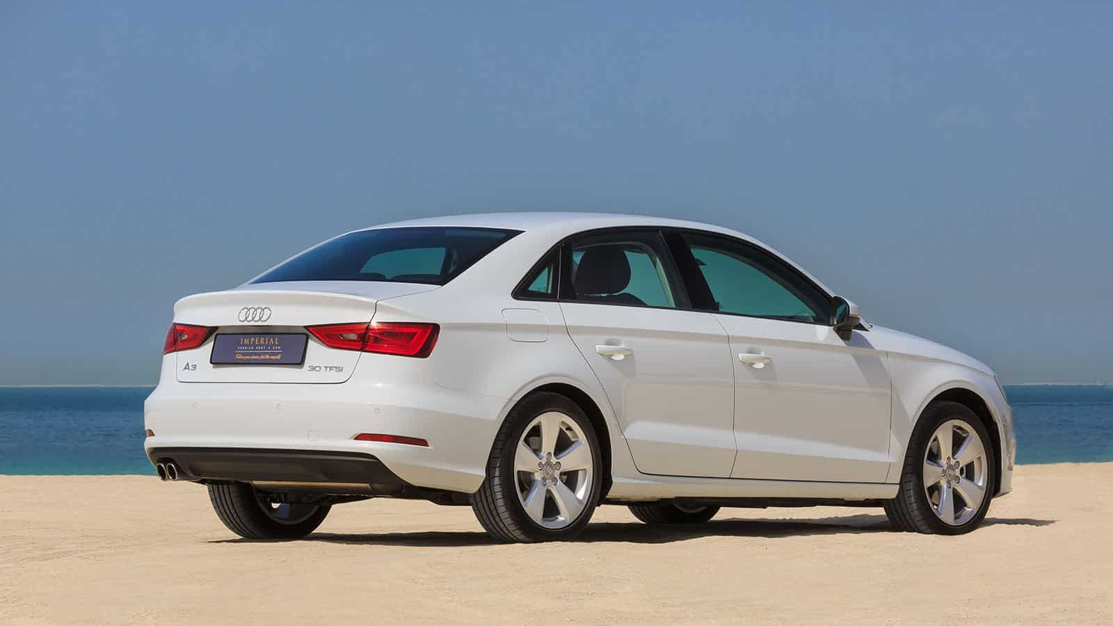 Audi A3 Rental Car Dubai