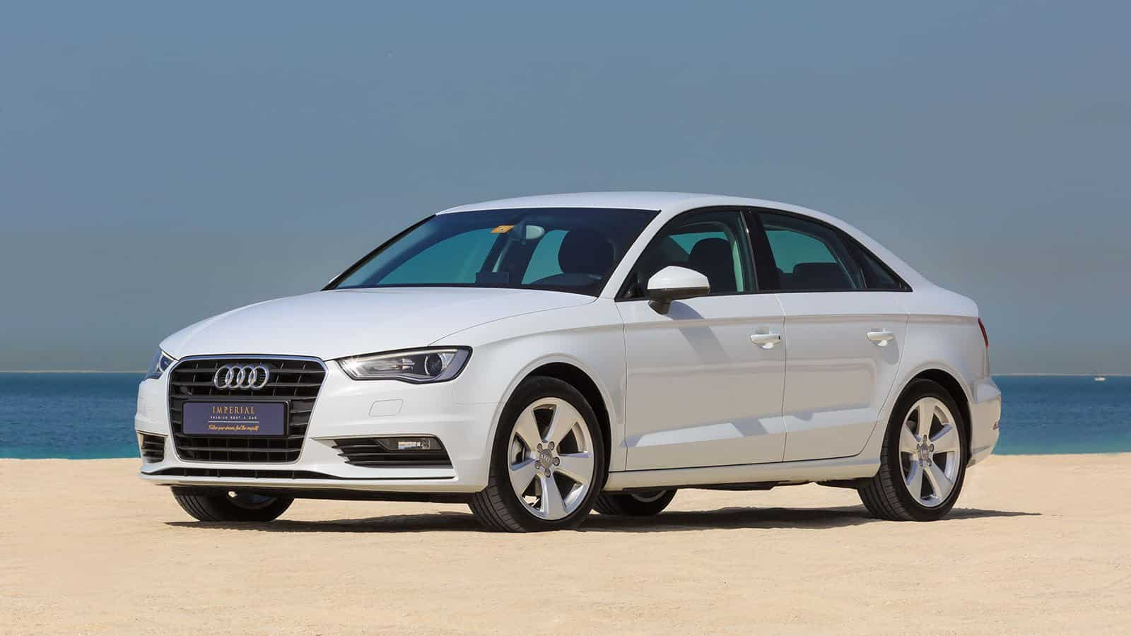 Audi A3 Car Rental Dubai