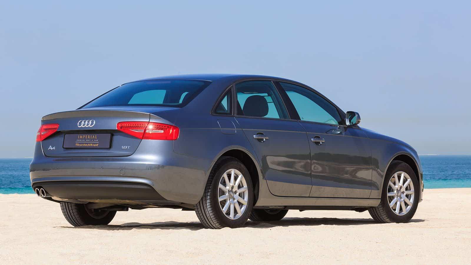 Audi A4 car Rental Car Dubai
