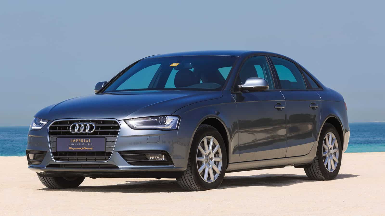 Audi A4 car rent Dubai