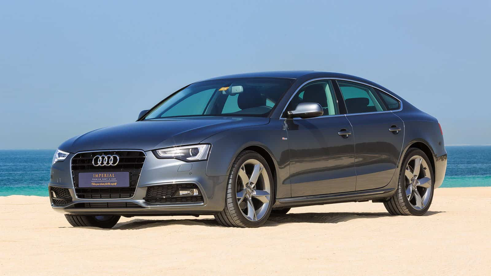 audi a5 sportback rent dubai imperial premium rent a car. Black Bedroom Furniture Sets. Home Design Ideas
