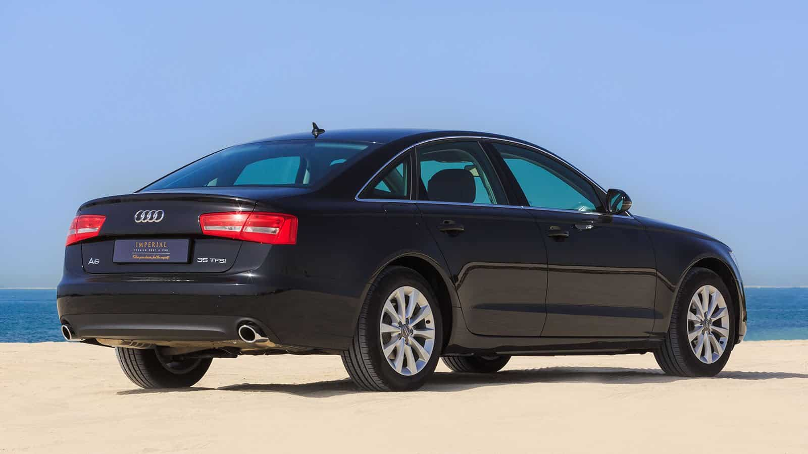 Audi A6 Car Rental Dubai
