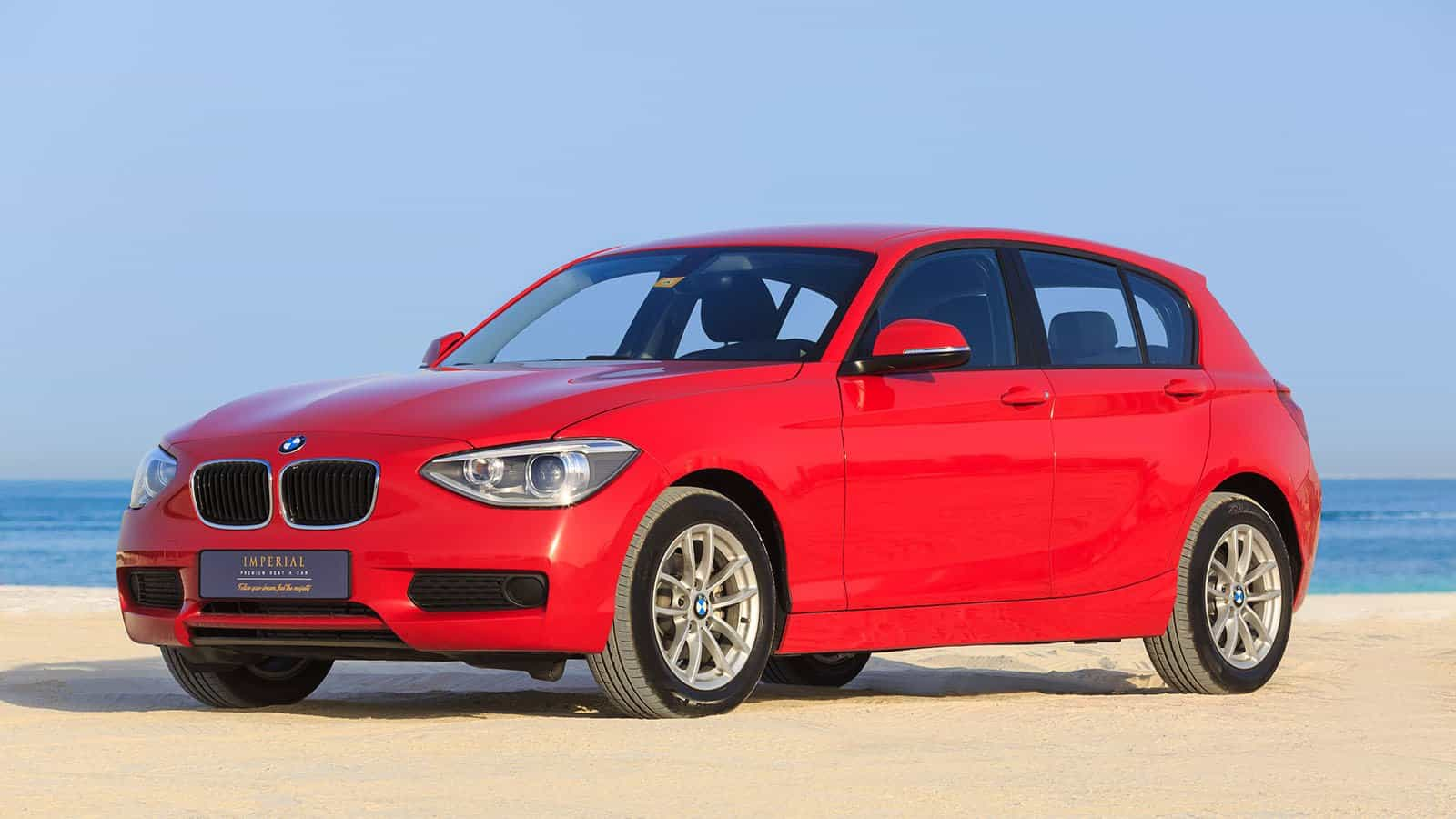 bmw 116 for rent dubai imperial premium rent a car. Black Bedroom Furniture Sets. Home Design Ideas