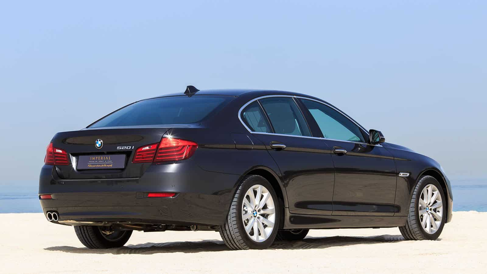BMW 520i Dubai Car Rental
