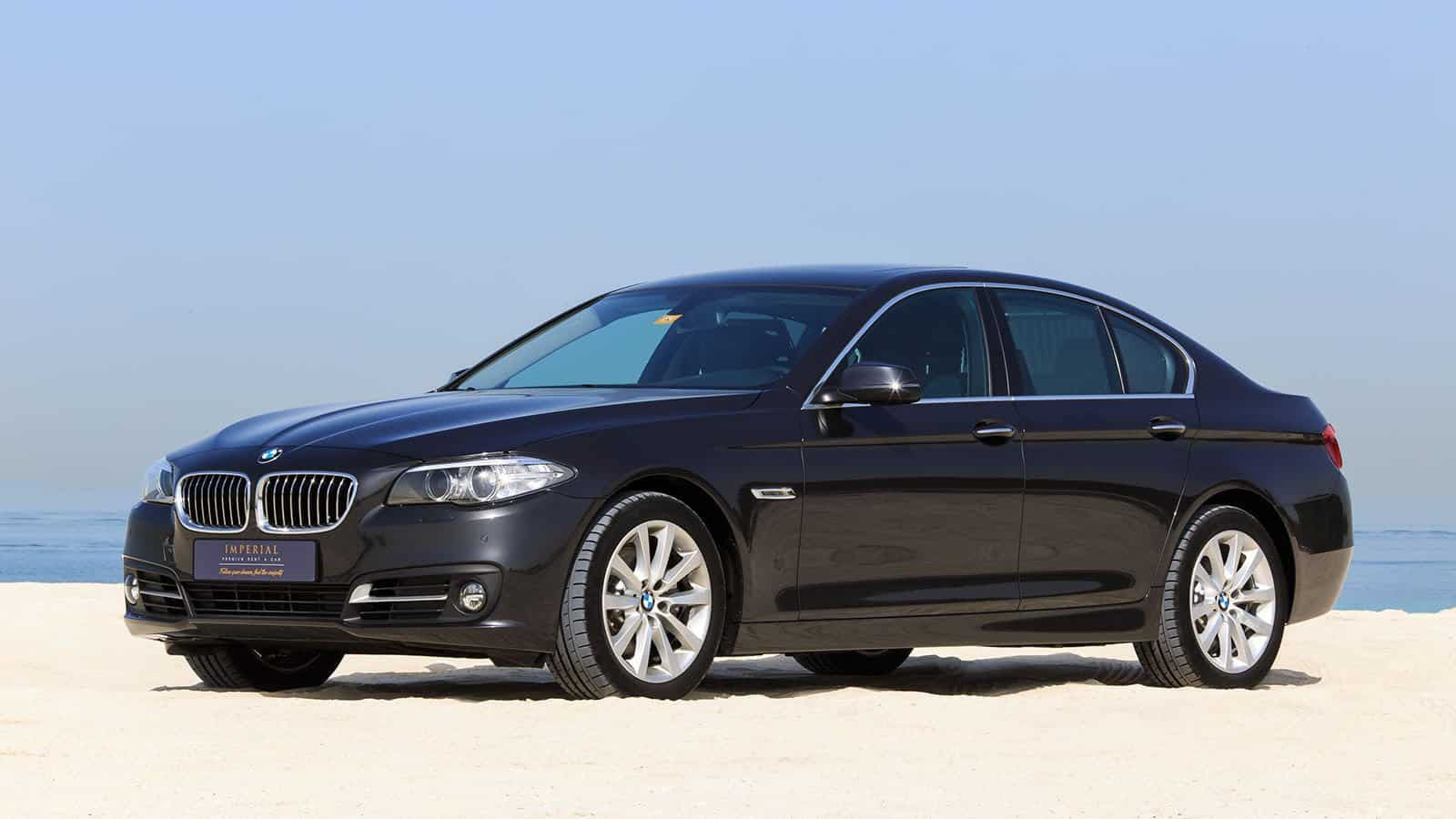 BMW 520i Car Rental Dubai