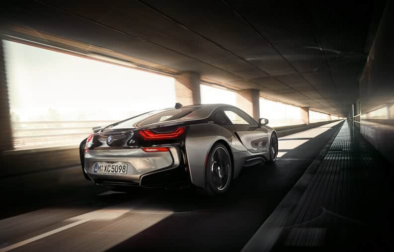 BMW i8 Rental Car Abu Dhabi