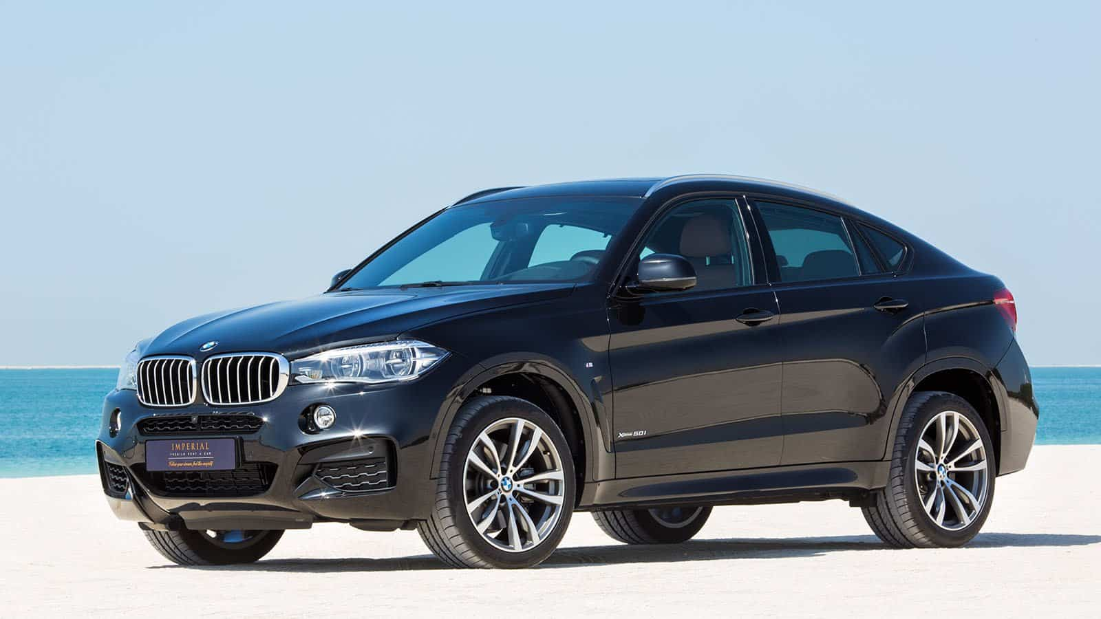 BMW X6 M Plus Sport Rental Car Dubai
