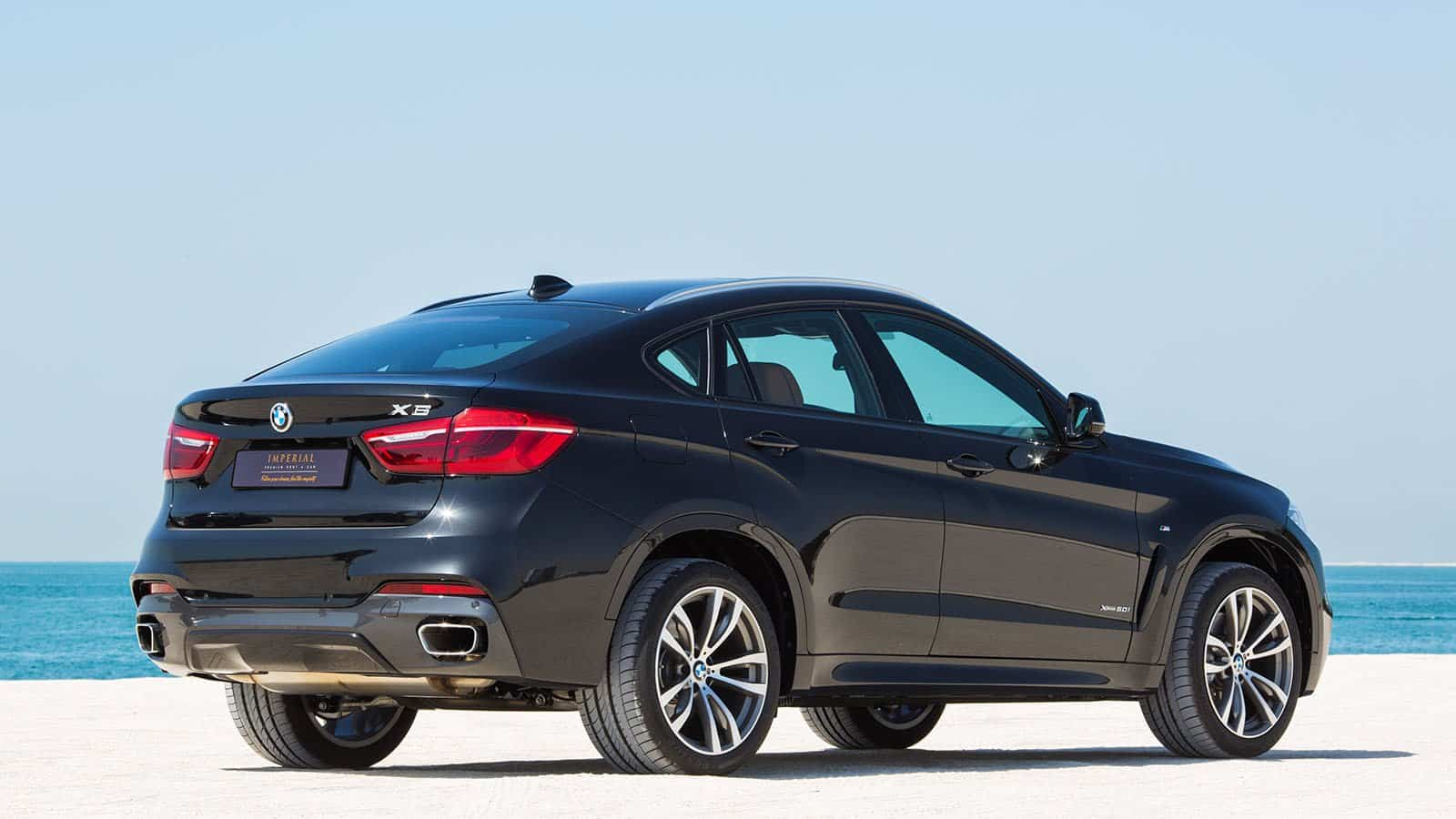 BMW X6 M Plus Sport Car on Rent in Dubai