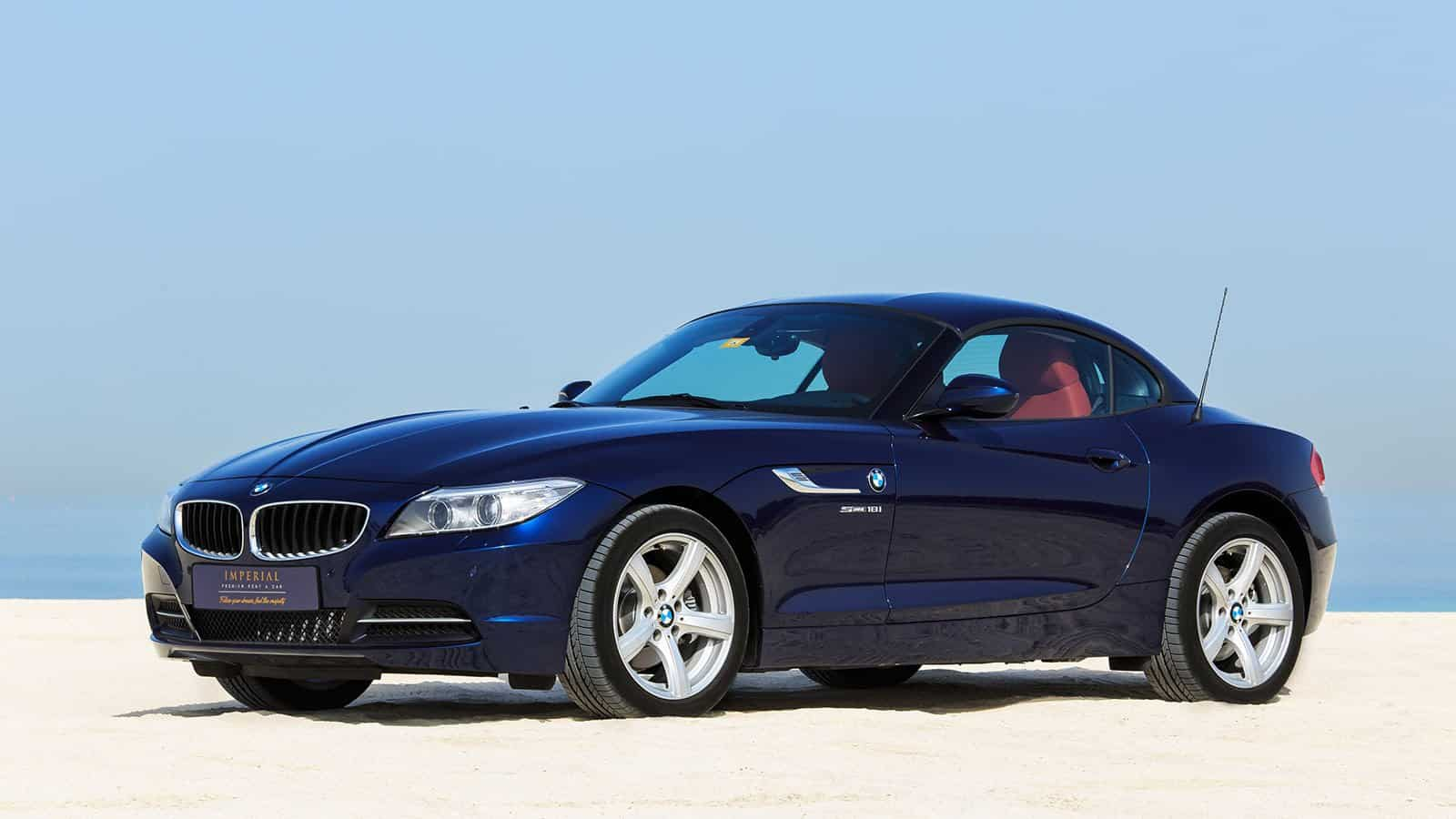 bmw z4 for rent dubai imperial premium rent a car. Black Bedroom Furniture Sets. Home Design Ideas