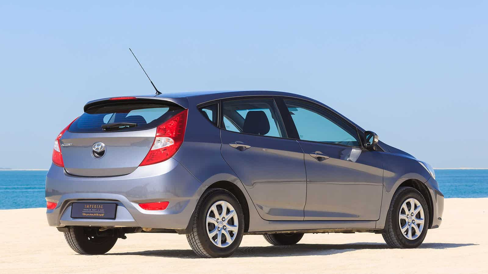 Hyundai Accent Hatchback Car Rental Dubai
