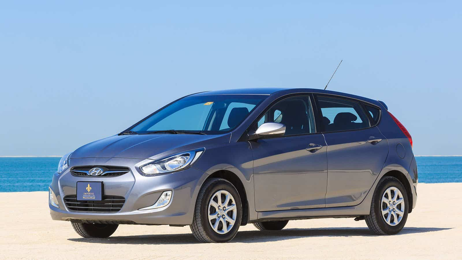 Hyundai Accent Hatchback Rent Dubai