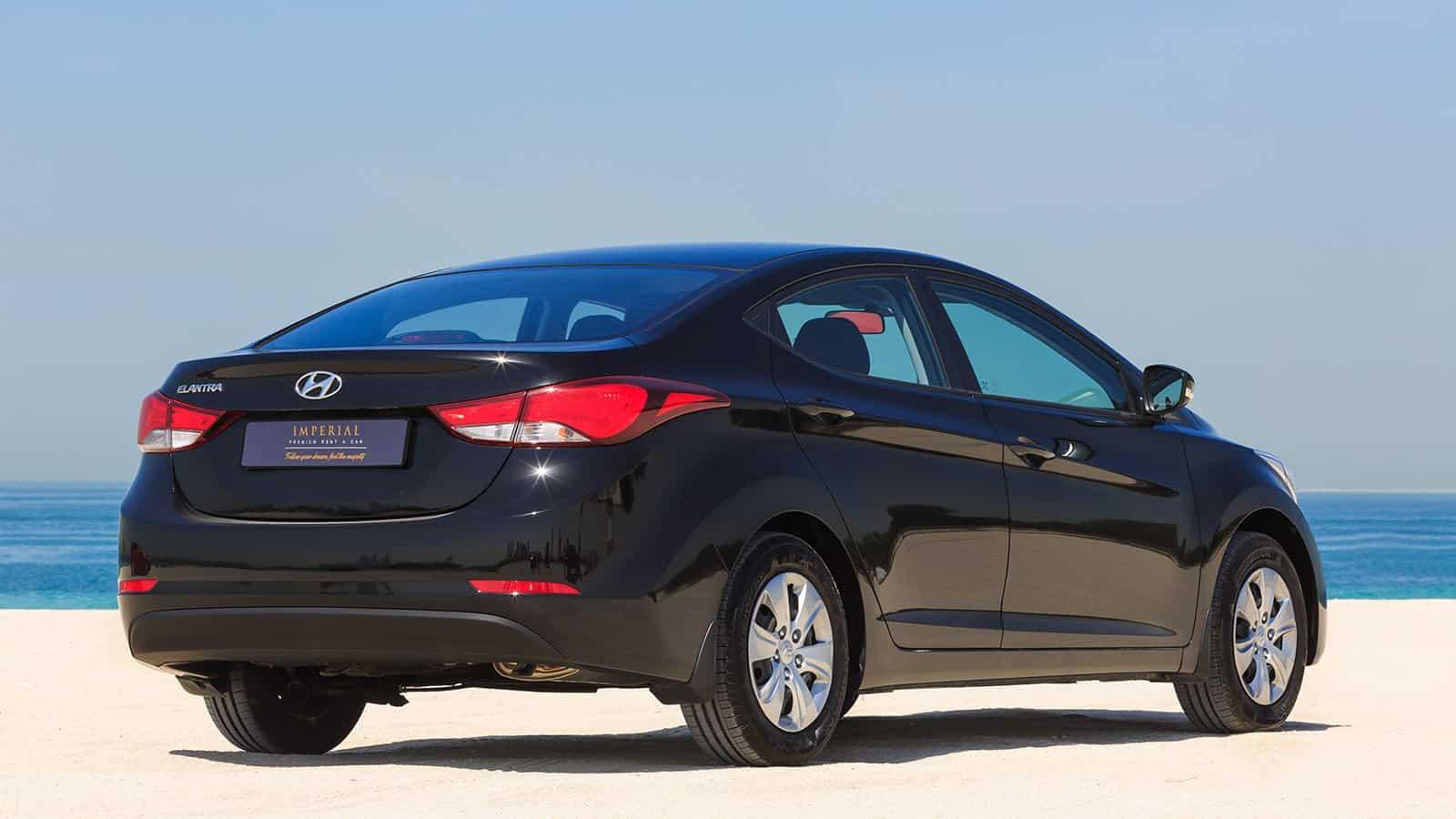 Hyundai Elantra Car Rental Abu Dhabi