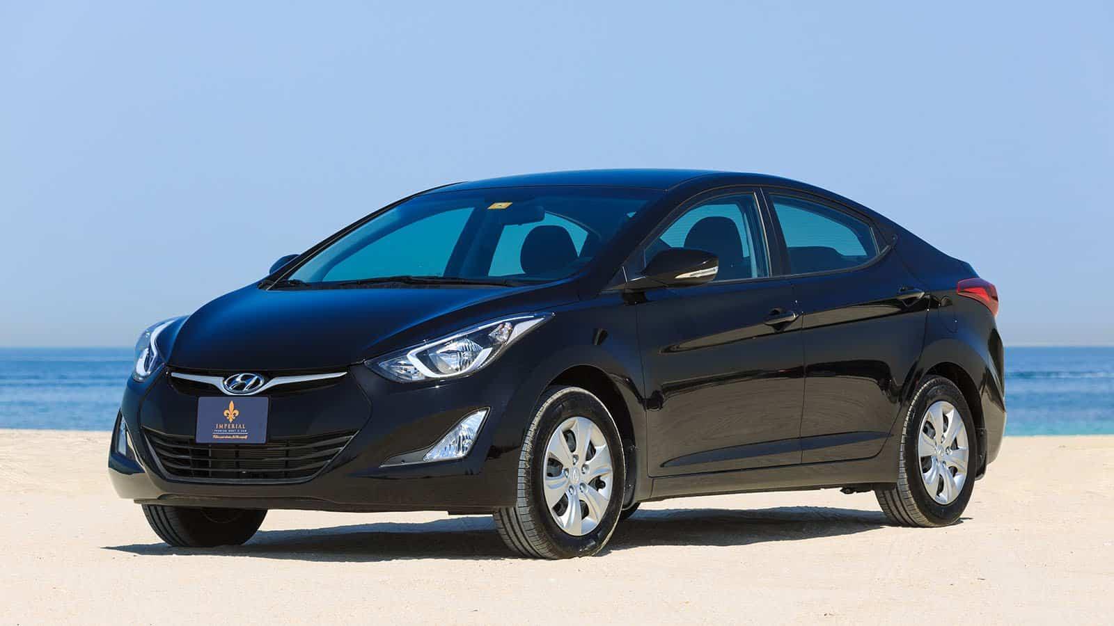 Hyundai Elantra Car Rental Dubai