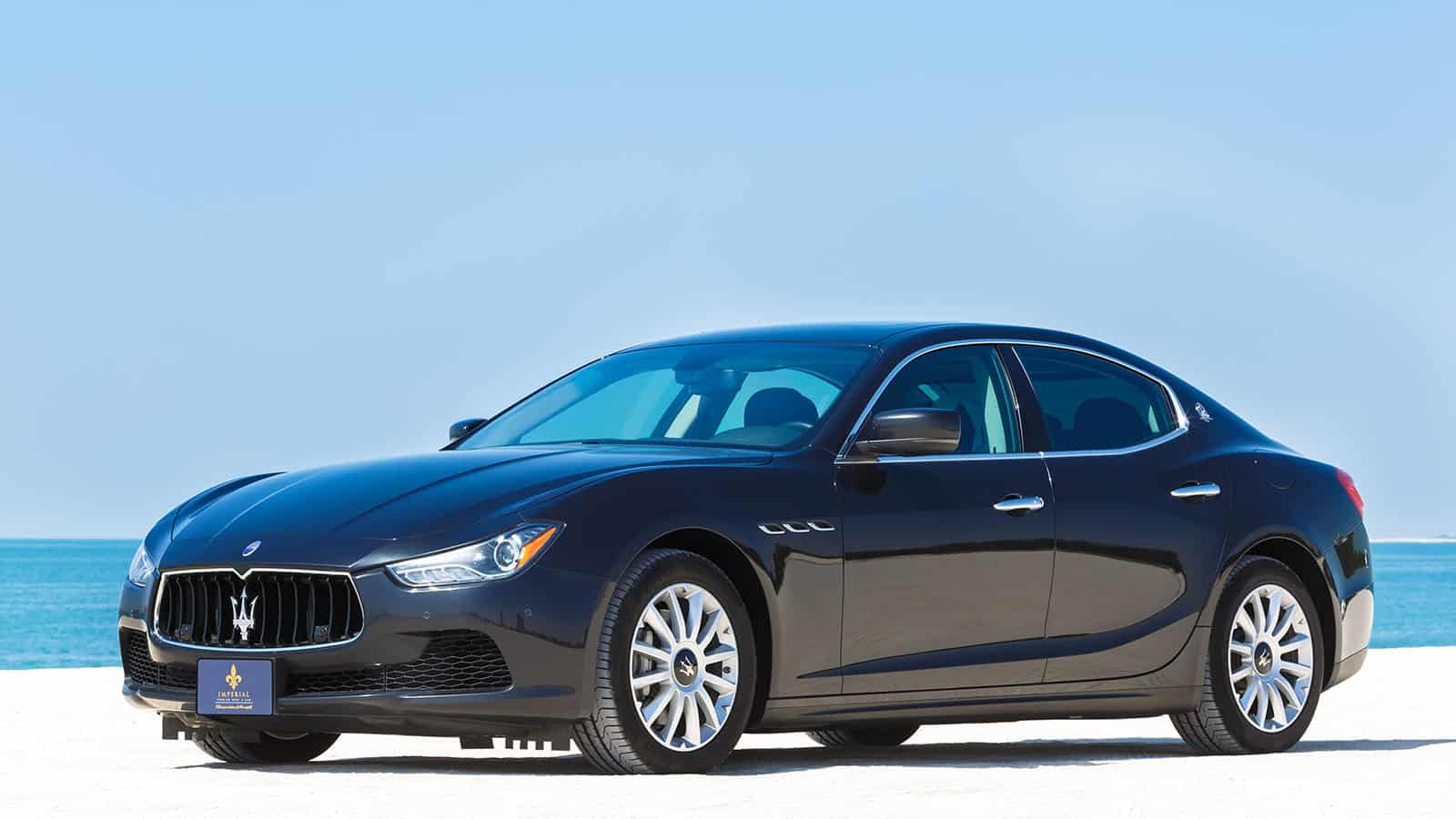Maserati Ghibli Rent Dubai Imperial Premium Rent A Car