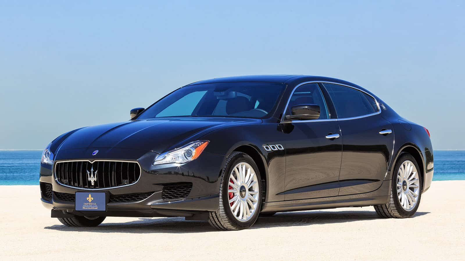maserati quattroporte s rent dubai imperial premium rent a car. Black Bedroom Furniture Sets. Home Design Ideas