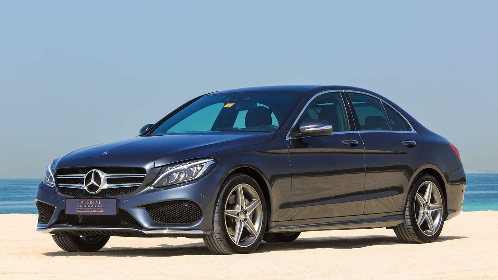 mercedes benz c200 rent dubai imperial premium rent a car. Black Bedroom Furniture Sets. Home Design Ideas