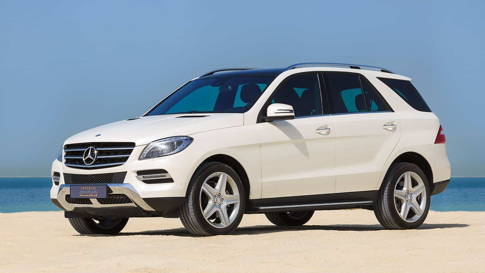 mercedes benz ml350 rent dubai imperial premium rent a car