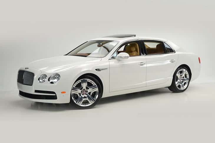 Bentley Flying Spur Rental Car Dubai