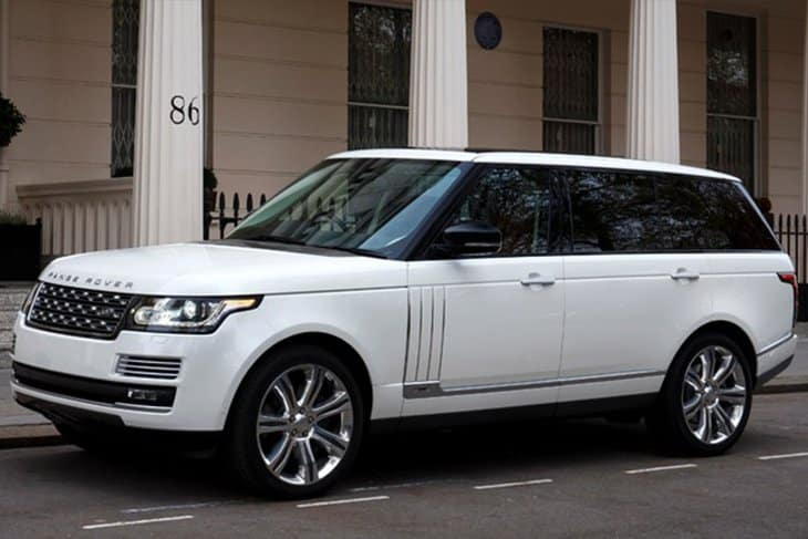 Range Rover Vogue Autobiography Car Rent Dubai