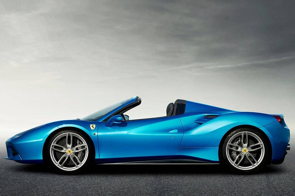 Ferrari 488 Spider car Rental Dubai