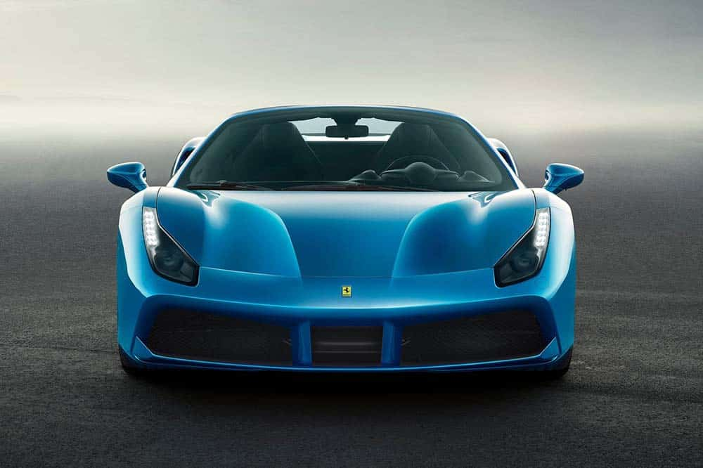 Rent Ferrari 488 Spider Car Dubai