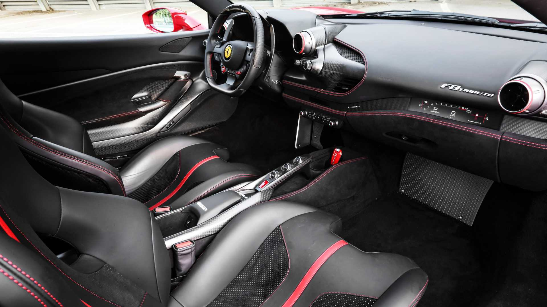 Ferrari F8 Tribute Rent in Dubai