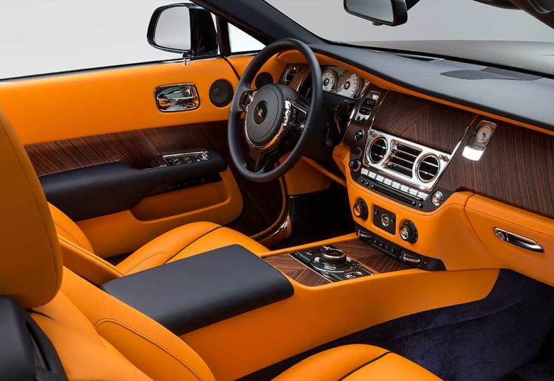 Rolls Royce Dawn Car Rent Dubai