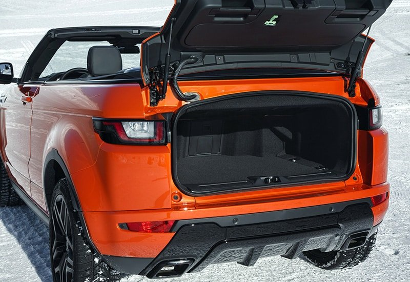 Rent a Car Range Rover Evoque HSE Convertible Dubai