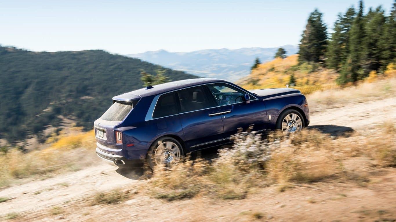 Rent Rolls Royce Cullinan SUV Dubai