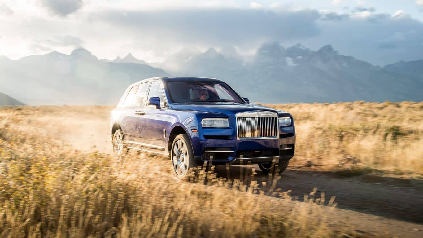 Rolls Royce Cullinan SUV Car Rent Dubai