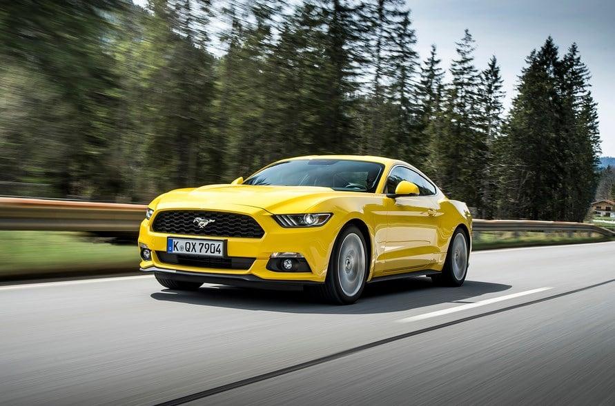 Ford Mustang Car Rental Dubai