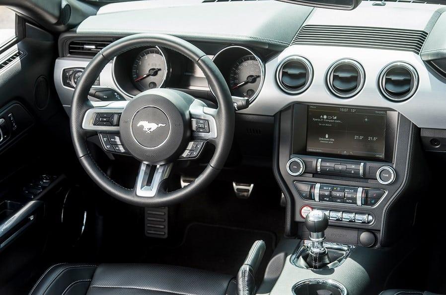 Rent Ford Mustang Car Dubai